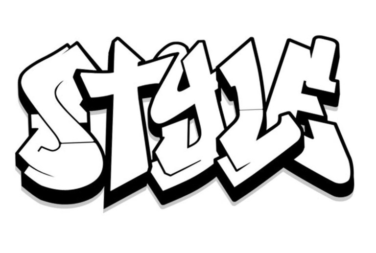 Best Graffiti Coloring Pages