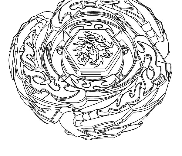 Beyblade Coloring Pages To Print