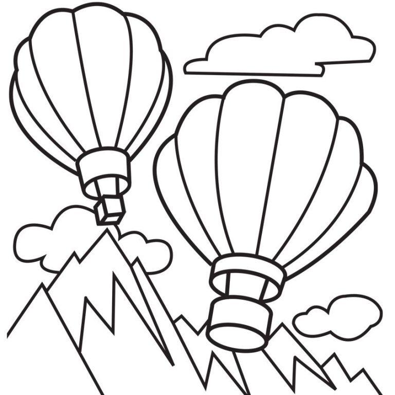Balloon Coloring Book