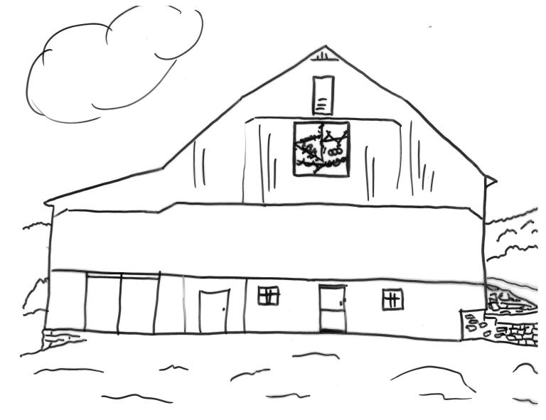 Barnyard Coloring Pictures