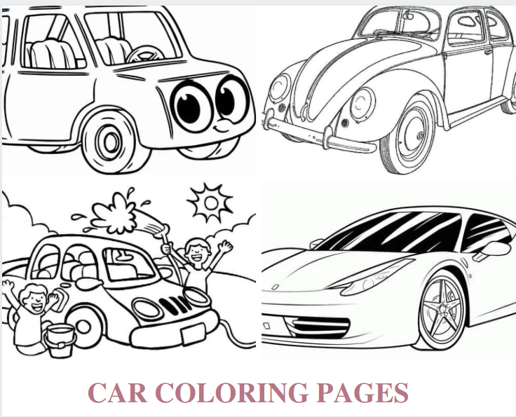 Car Coloring Pages