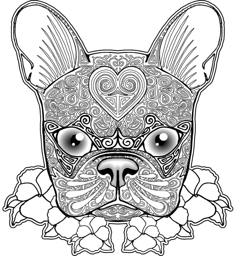 Dog Coloring Pages Picture