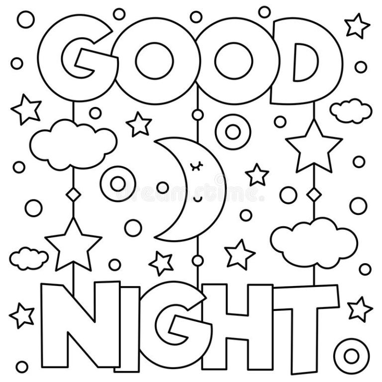 Goodnight Moon Coloring Pages