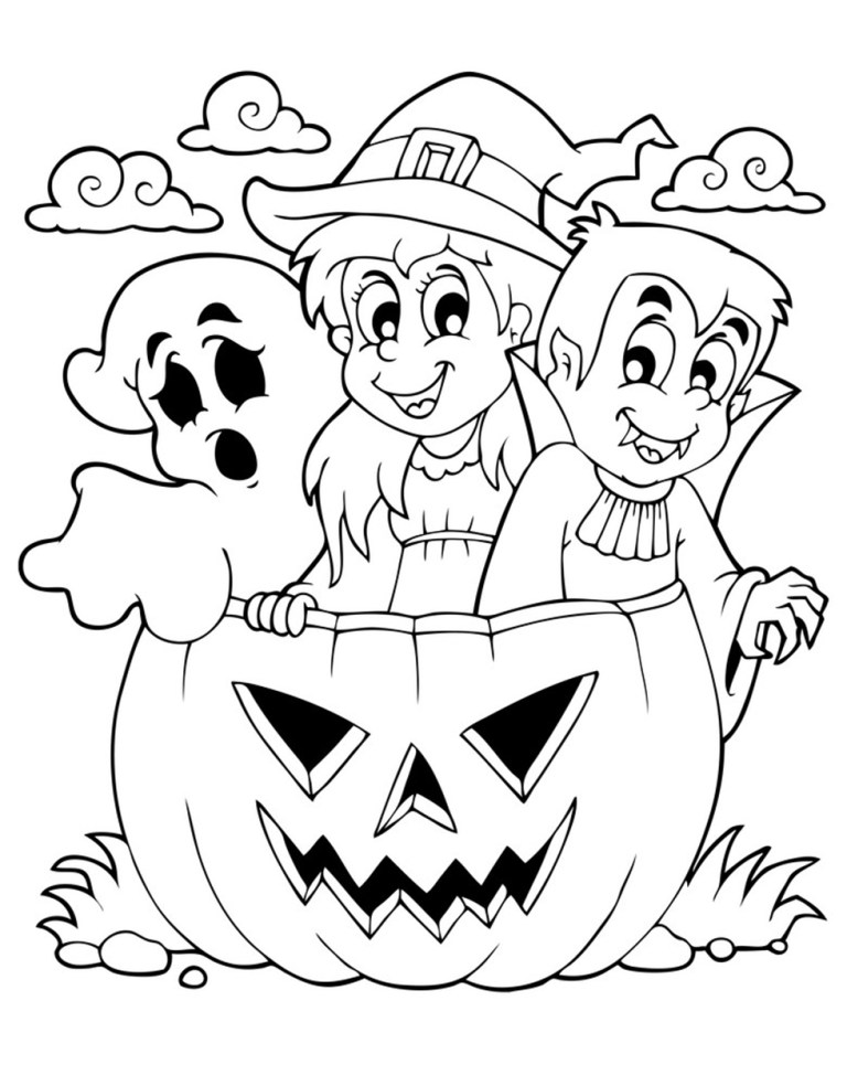 new free printable halloween coloring pages updated 2021 2022
