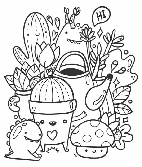 relaxing halloween coloring pages five spot green living images