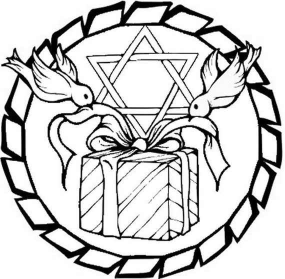 story of Hanukkah Coloring