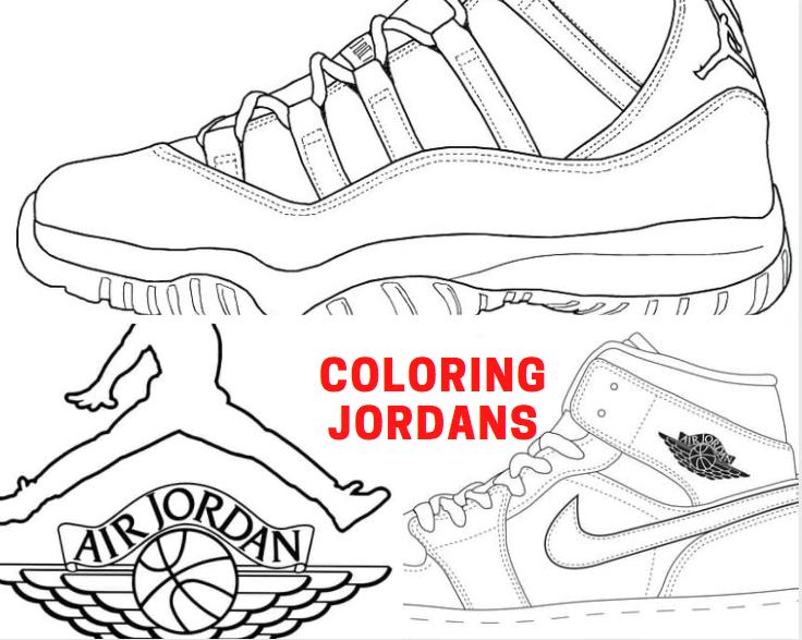Coloring Jordans
