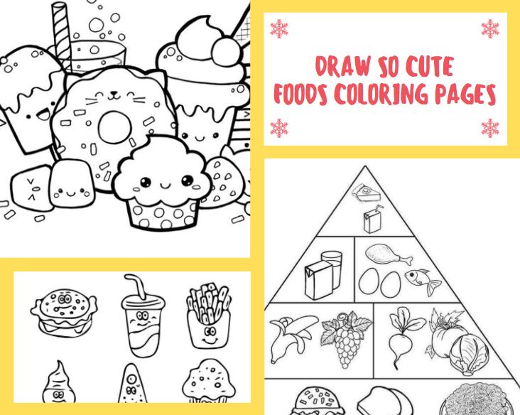 Draw so Cute Foods