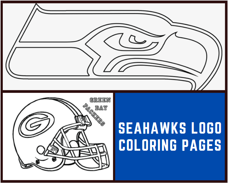 Seahawks Logo Coloring Page