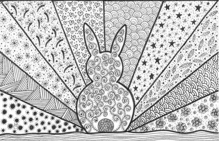 Advanced Geometric Coloring Pages