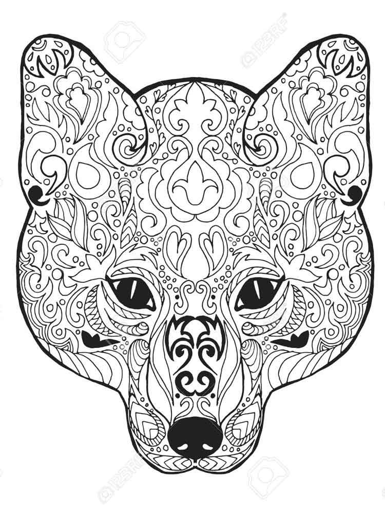 animal mandala coloring pages for adult free printable free downloads