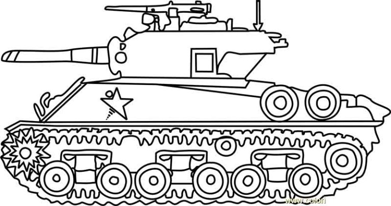 Army Coloring Pictures