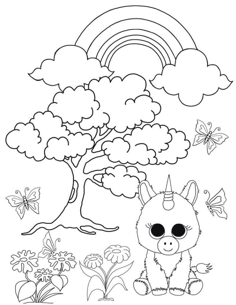 Beanie Boo Coloring Pictures