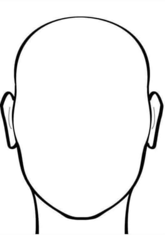Blank Face Outline