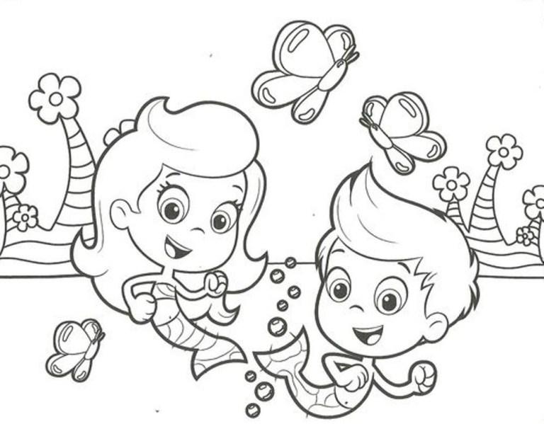 Bubble Guppies Free Printable