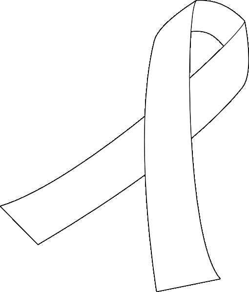 cancer ribbon coloring pages