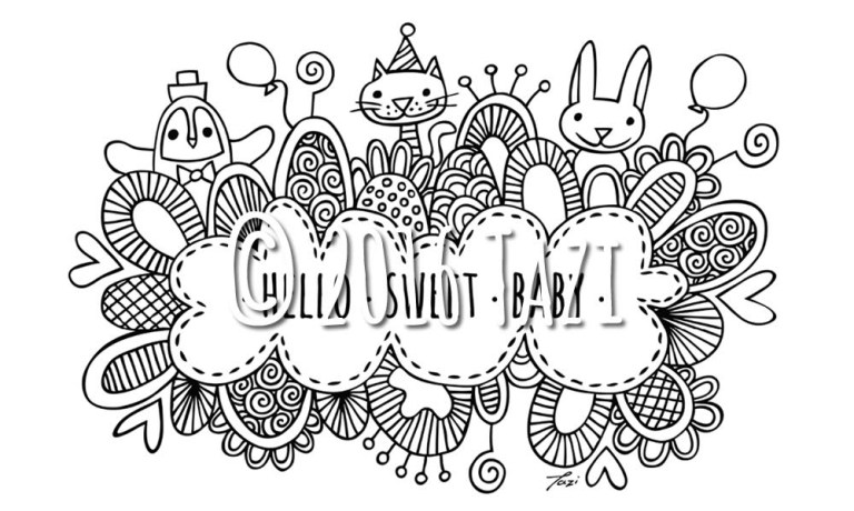 Candy Store Coloring Pages