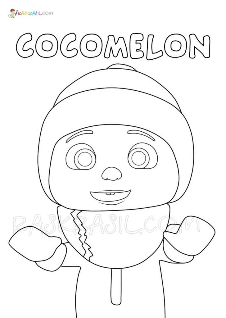 Cocomelon Coloring Pages Free