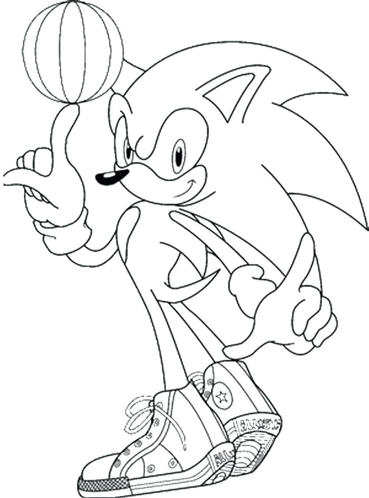 Coloring Book Sonic