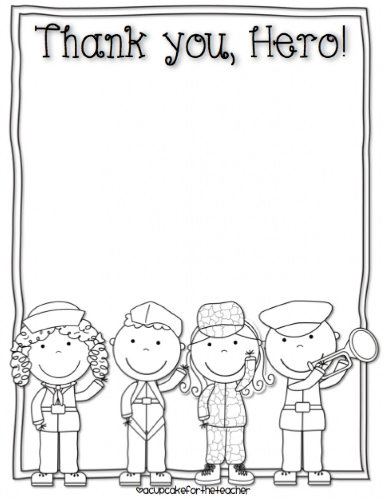 Coloring Pages For Veterans Day