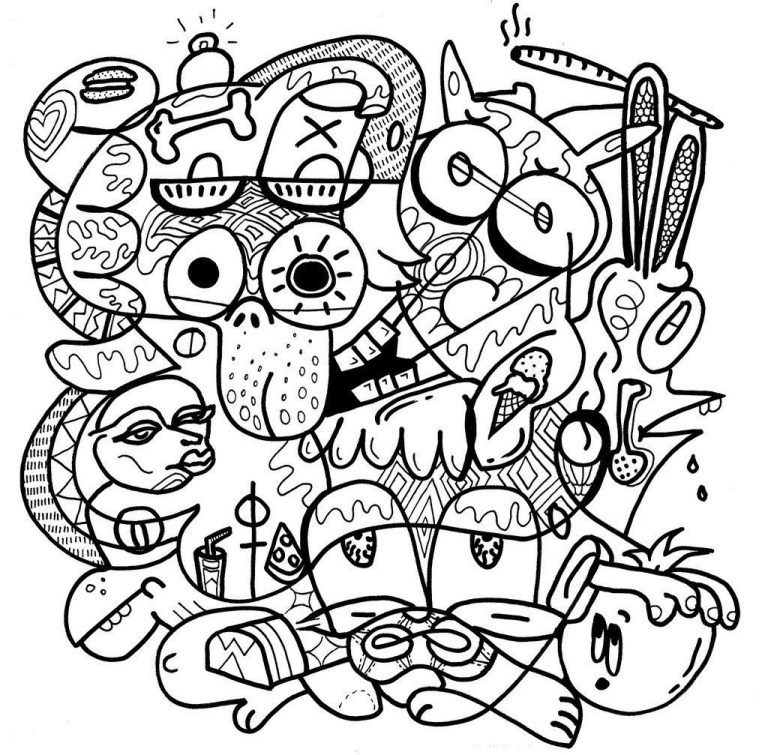 Coloring Pages Weed