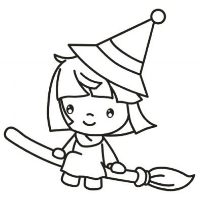 Coloring Pages Witch