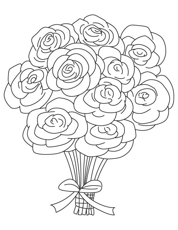 Coloring Sheets Roses