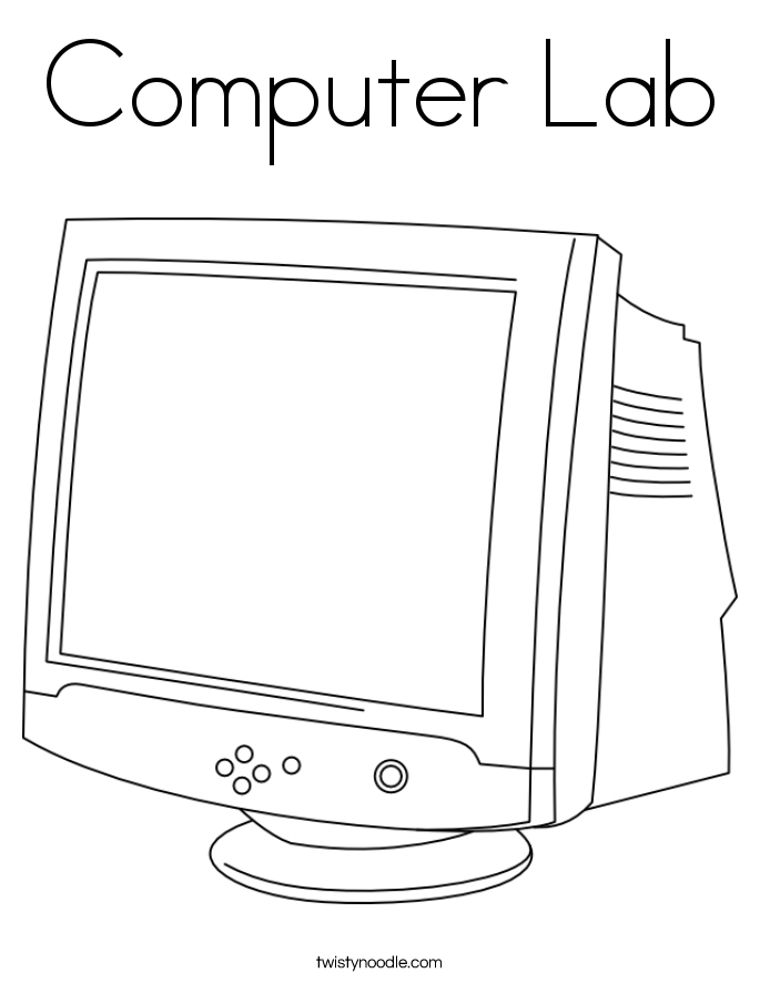 Computer Colouring Sheets