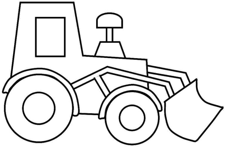 Construction Trucks Coloring Pages