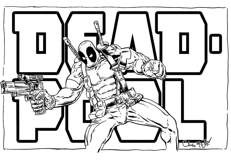 Deadpool Color