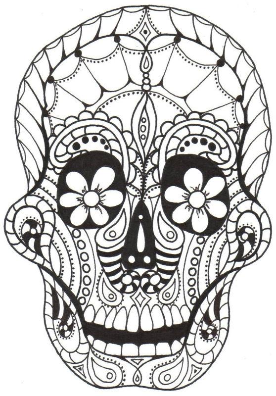 Dia De Los Muertos Printables Free