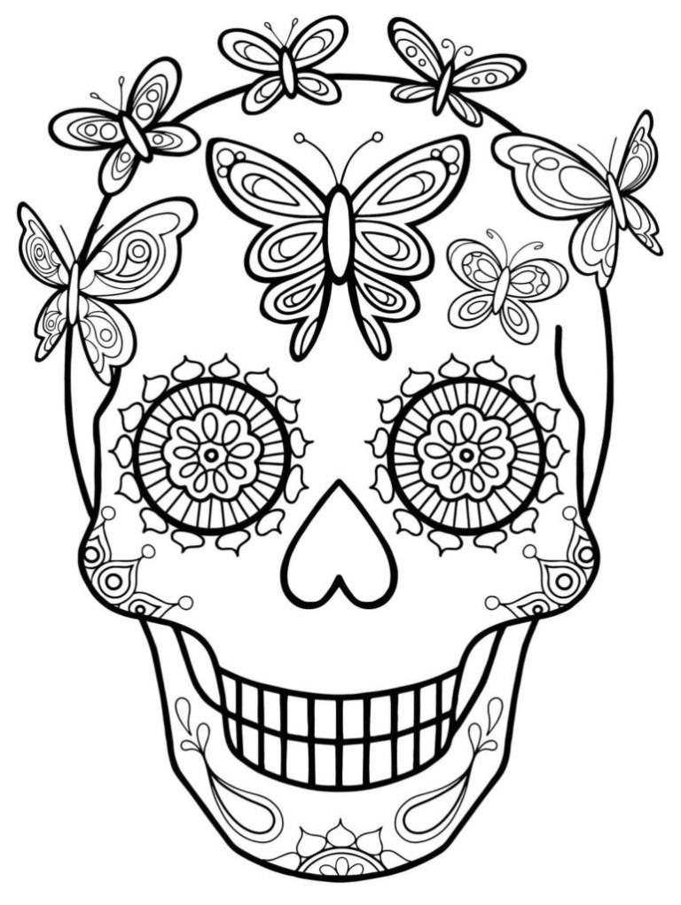 Dia De Los Muertos Printables