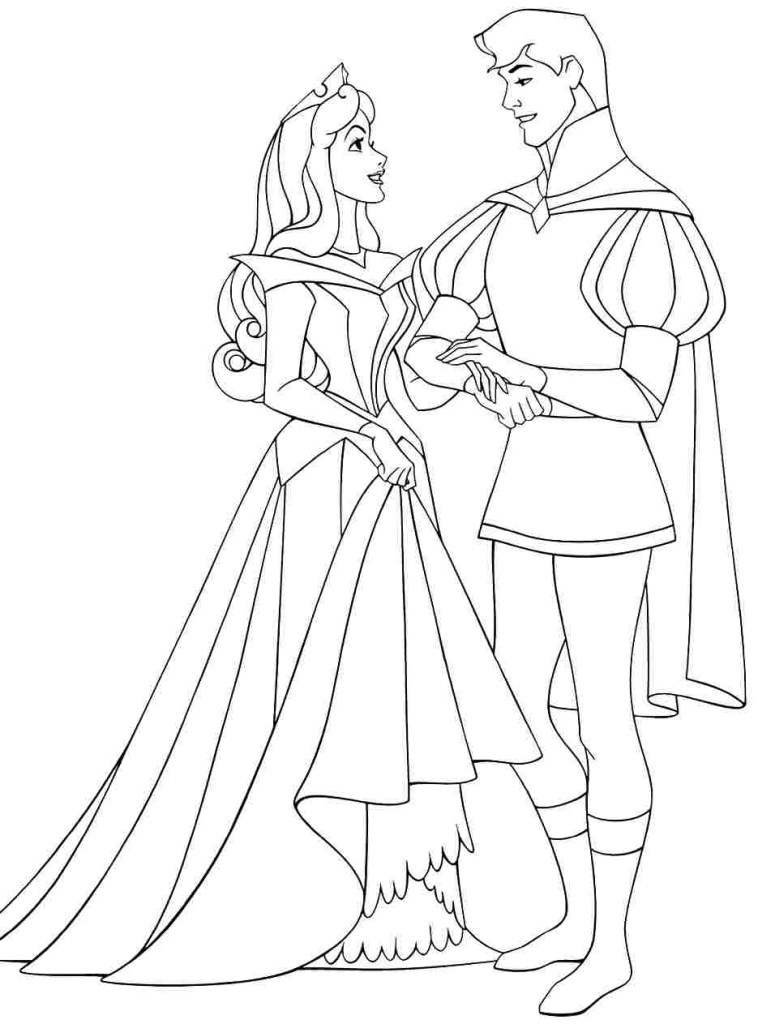Disney Princess Christmas Coloring Pages
