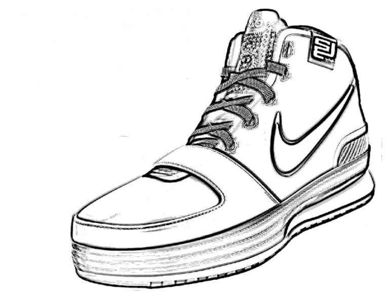 Drawing Of Converse