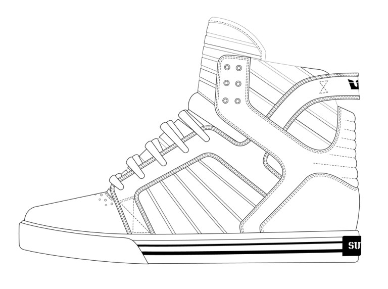 Drawings Of Converse