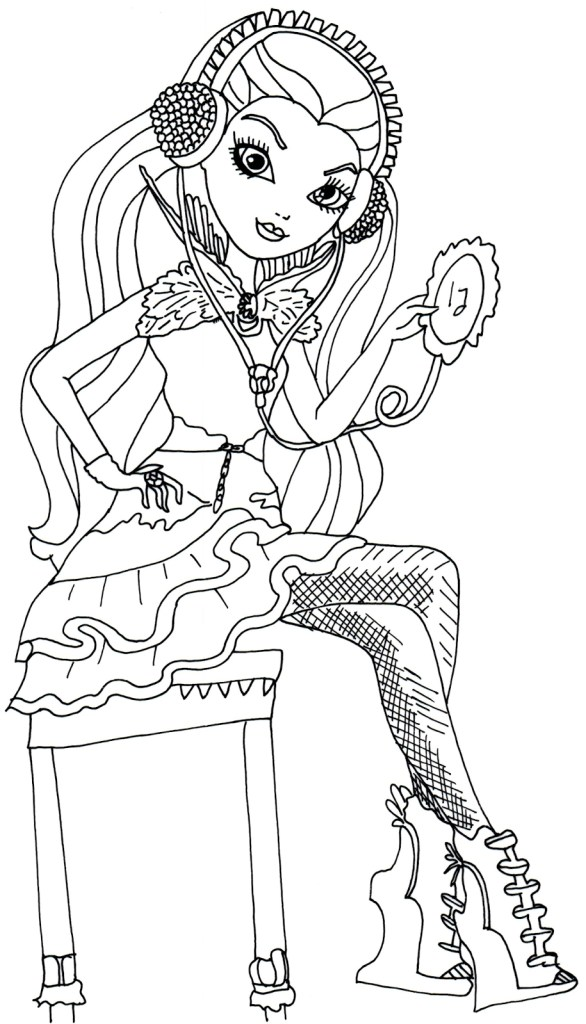 Ever After High Coloring Page