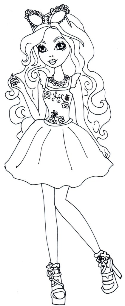 Ever After High Coloring Pages Free