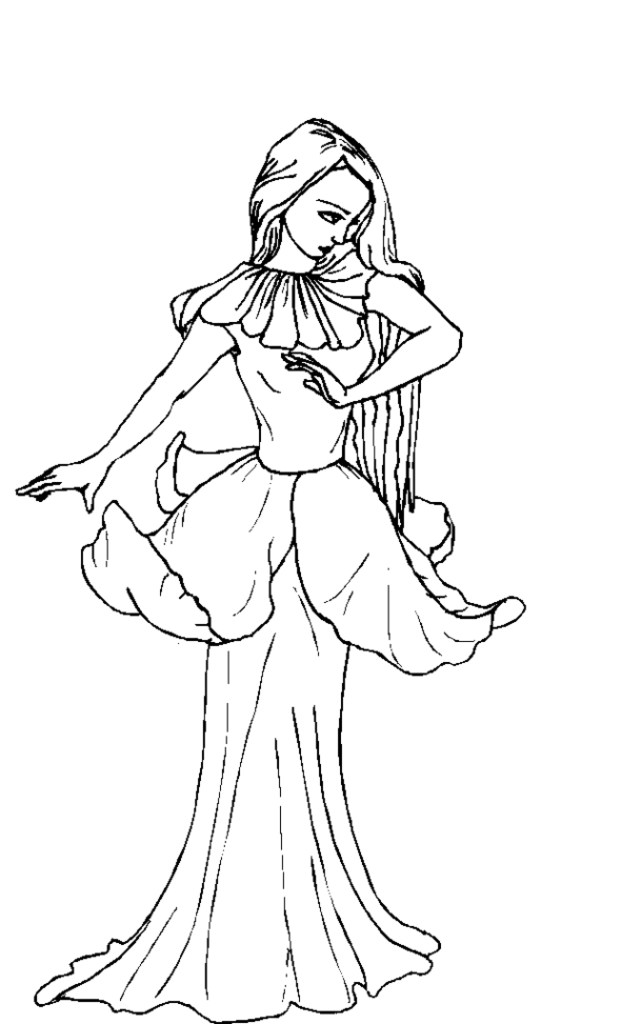 fairy house coloring pages