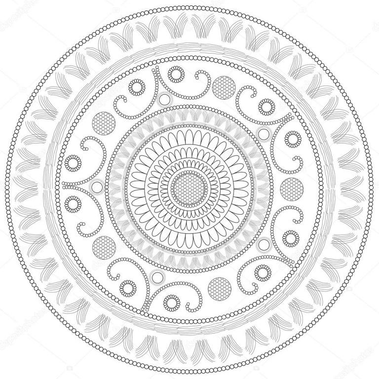 Free Circle Coloring Sheet To Downloads