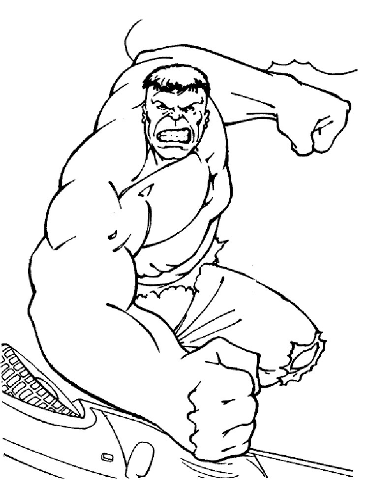 free hulk smash coloring pages free collection