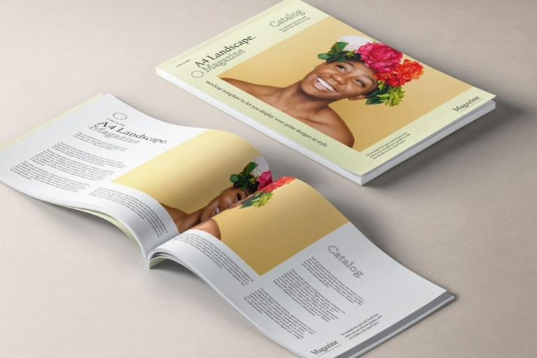 Free Print Ad Mockup