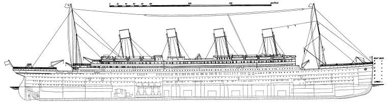 free titanic blueprint picutres