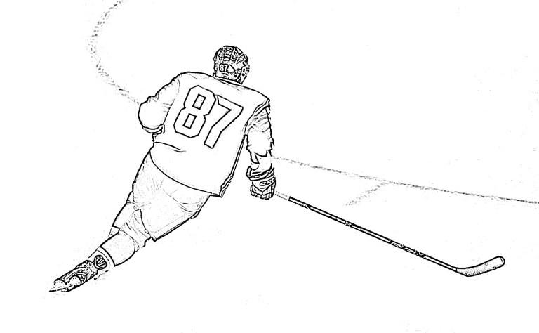 Hockey Coloring