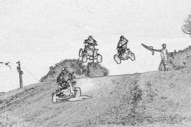 kids atv coloring pages outdoor competion