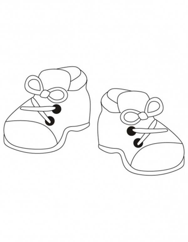 kindergarten kids vans shoe coloring model