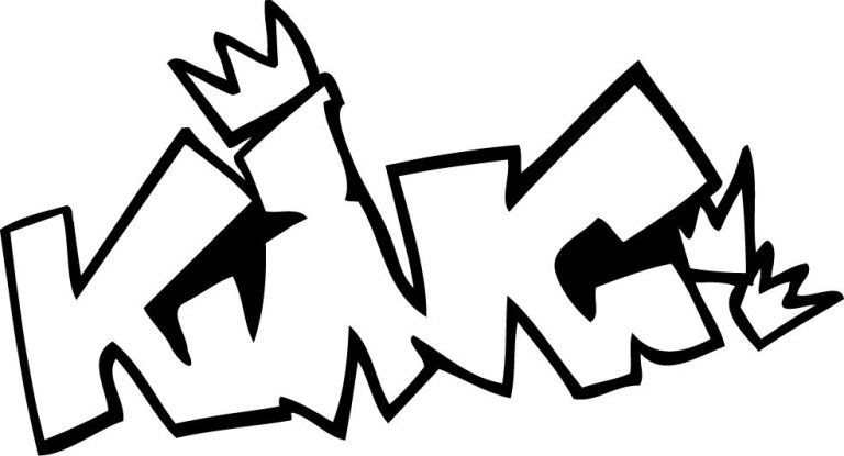 king graffiti to download and print for free