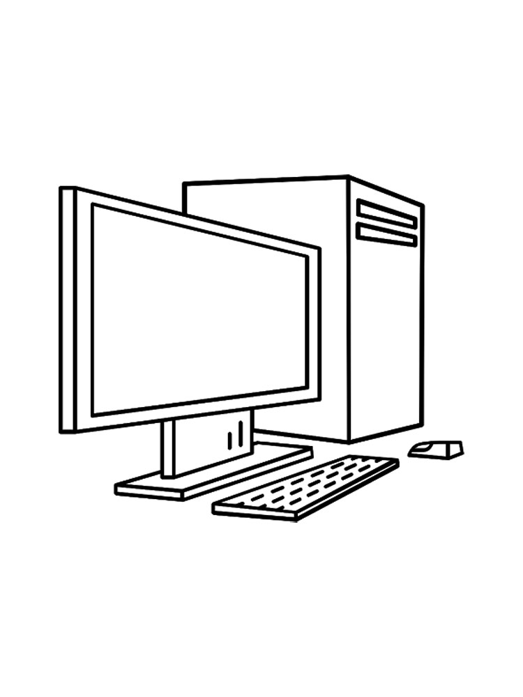 Laptop Coloring