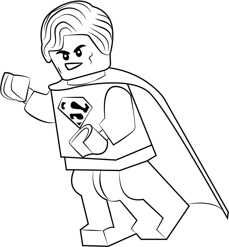 lego superman coloring page free printable coloring free downloads