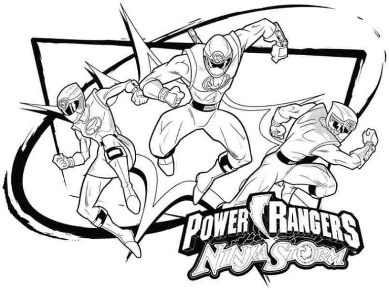 Power Ranger Printables