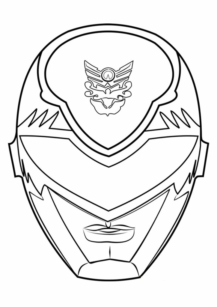 Power Rangers Colouring Pictures